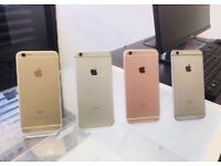 APPLE iPHONE 6S 16GB & 32GB, - WITH SHOP RECEIPT & WARRANTY - ALL COLOURS & NETS AVAILABLE