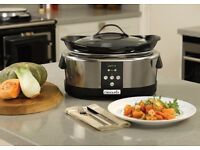 Crockpot 5.7l slow cooker perfect for Christmas turkey
