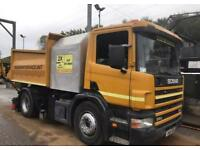 2000 v reg Scania TAR TANKER JIMMY JOHNSON NO VAT
