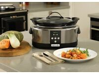 Crockpot slow cooker 5,7l perfect for Christmas turkey