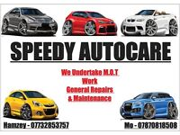 SPEEDY AUTOCARE (Mechanic) (Vehicle Repairs/M.O.T Work/Vehicle Servicing/General Repairs/Maintenance
