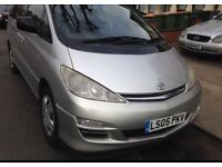 TOYOTA PREVIA T2 AUTOMATIC 7 SEATER