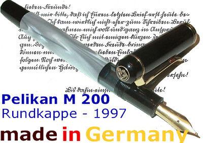 PELIKAN M 200 F Fountain Pen Old-Style NEW, ALTERNATIVE to SOUVERAN M400