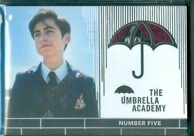 The Umbrella Academy  Season 1 ( RC5 ) Number Five Costume Card