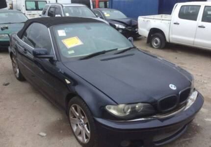 2003-006 BMW 325Ci E46 CONV. BLUE WRECKING PARTS - B21454 Villawood Bankstown Area Preview