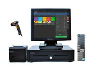 Full Touchscreen EPOS POS Cash Register Till System (Retail and Hospitality Businesses)