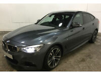 Grey BMW 330d M Sport GT Auto Leather FROM £77 PER WEEK!