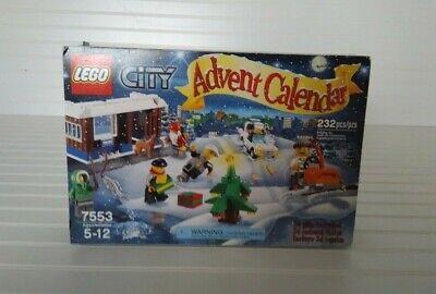 LEGO City Advent Calendar (7553) Christmas 2011 Holiday Set