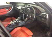 Black BMW 335 3.0TD 4X4 Auto 2016 d xDrive M Sport FROM £109 PER WEEK!