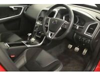 RED VOLVO XC60 2.4 D4 AWD R DESIGN LUX 2.0 SE 2WD G/T FROM £103 PER WEEK!