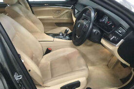 Grey BMW 525 2.0TD d Auto 2015 Luxury FROM £72 PER WEEK!