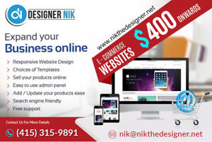 Grow your business with online web presence.