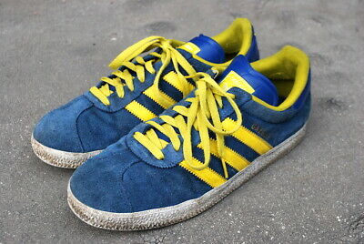 VINTAGE ADIDAS GAZELLE SUEDE TRAINERS FOOTBALL CASUAL SNEAKERS 8 for sale  Shipping to South Africa