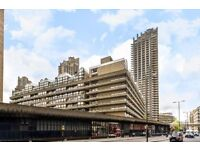 One bedroom apartment with BALCONY right next to BARBICAN tube station