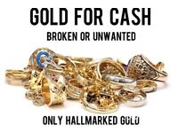 GOLD FOR CASH ALL HALLMARKED GOLD TOP PRICES PAID