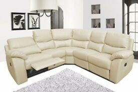EXPRESS DELIVERY⚫BEST SELLING BRAND⚫BRAND NEW CORNER, 3+2 SEAT SOFA SET WITH CUP HOLDERS IN 3 COLORS