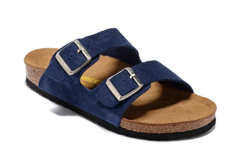 Birkenstock Arizona BS Sandale mit zwei Riemen und weichem Fußbett Mehrfarbig DE