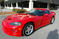 1997 Dodge Viper GTS Coupe (2 door)