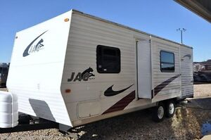 32 ft travel trailer in Riverland Campground - sleeps 10!
