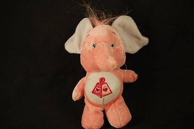 Lotsa Care Bear Cousin Rosa Elefant Herzen Nase Plüsch 6 Plüschtier Lovey