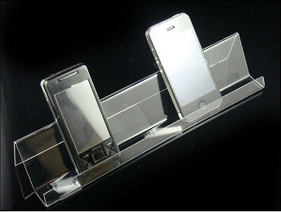 10PCS Clear Mobile cell phone display stand holder rack Universal General F22