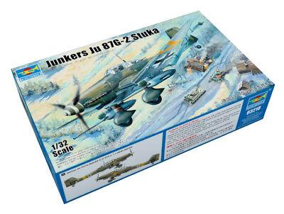 Trumpeter 9363218 Junkers Ju 87G-2 Stuka 1:32 Kampfflugzeug Modellbausatz