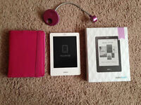 Purple Kobo Touch Reader