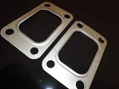 2 Pack Garrett  T3 Turbo Flange Inlet Manifold Gasket 304 Stainless Steel