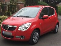 Vauxhall Agila Ecoflex 1.0 Red excellent condition and low mileage