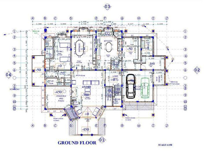 Blueprint reading course for construction architecture classes listing item malvernweather Images