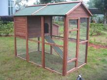 Rabbit Chicken Guinea Pig Ferret Hutch House Cage Coop ED05 Thomastown Whittlesea Area Preview