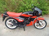1989 Kawasaki AR125. New MoT, runs well.