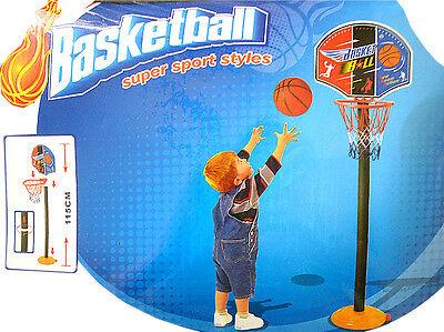 Kinder Mini Basketballkorb Set mit Ball,Ballpumpe,Basketballständer, Basketball