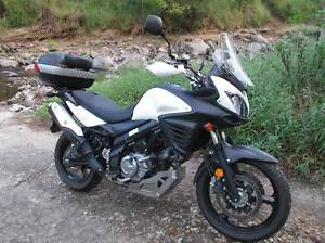 2012 Suzuki V-Strom 650 ABS, with many accessories. East Brisbane Brisbane South East Preview