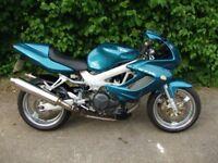 2001 Honda VTR1000 Firestorm. In good condition, runs well.
