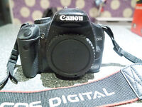 Canon SLR 450D with Sigma 17-70 F2.8 SUM Macro lens