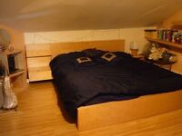Spacious Double Bedroom in Sunny Split Level Flat