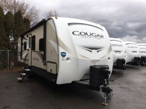 2018 Cougar 1/2 Ton TT - Travel Trailers Lightweight 27RESWE
