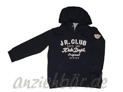 Steiff Kapuzen-Sweatshirt marine mit Teddykopf Junior Club Kids Dept Kindermode Kinder Sweatshirt Marine