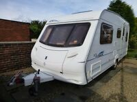 5 Berth Touring Caravan, ACE Aristocrat 490 with many extras including mover and awning.