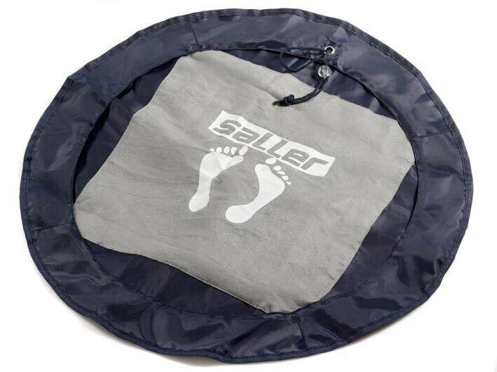 SALLER Hygienematte für unterwegs mit Tasche Matte Dusche