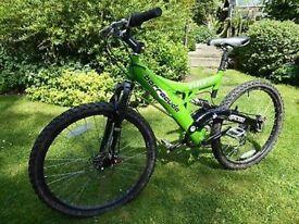 Barracuda Mutiny Downhill/Cross bike