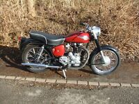 1959 Royal Enfield 350 Clipper. Good condition, runs well.