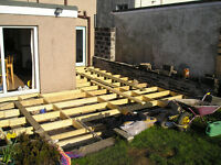 Timber Decking And Joists (USED)