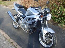 2003 Suzuki SV650 naked. Good condition, rides well. 19k.