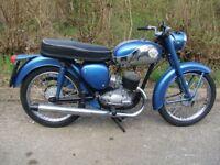 1969 BSA B175 Bantam. Restored, runs well. MOT & tax exempt.