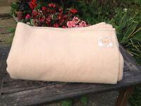 Wool Blanket - Slightly Marked