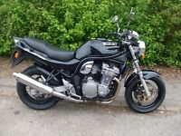 1997 Suzuki Bandit 600N. New MoT, needs carb cleaning.