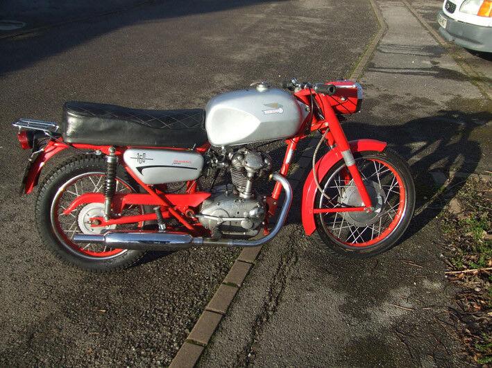 1968 Ducati 160 Monza Junior In Good Condition Long Mot Runs Well