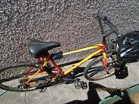 2 used Mountain bikes spare or repair